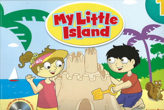 Sách tiếng anh My Little Island level 1, 2, 3